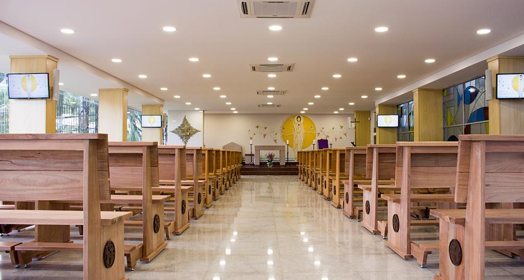 Capela da ressurreição do Cemitério Gethsêmani